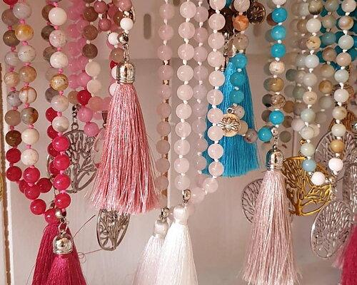 Smycken handgjorda armband & Mala halsband