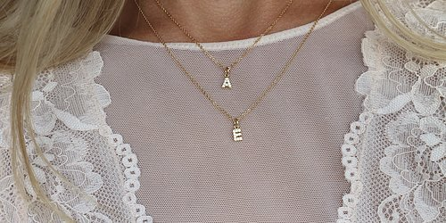 Wear your initials Create your own personal jewelrylook >>