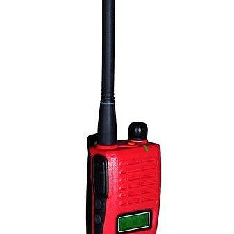 ALBE-X5. 140/155mhz. LCD. Röd