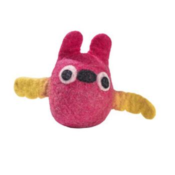 BOBBY-Huovutettu koiran lelu PÖLLÖ- Pink