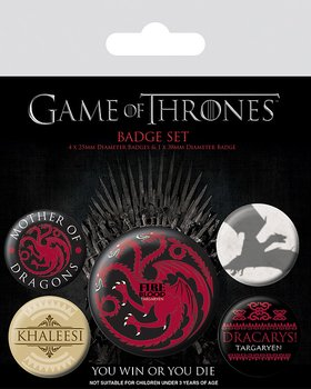 Badge set Game of Thrones