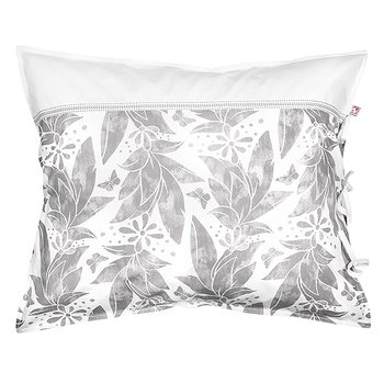 Shyness Pillow Case Butterfly White/Grey