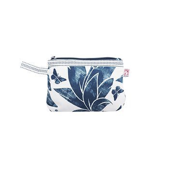 Shyness Cosmetic case Butterfly S White/Navy