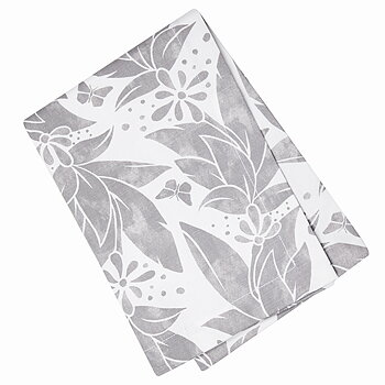 Shyness Kitchen Towel Butterfly White/Grey