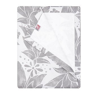 Shyness Table Cloth Butterfly White/Grey