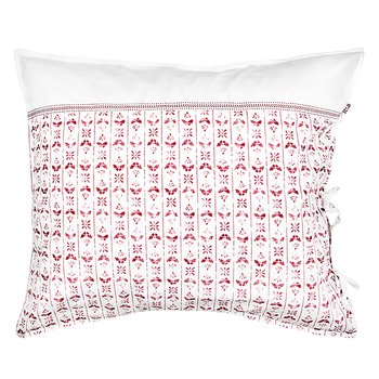 Shyness Pillow Case Night Fly White/Red
