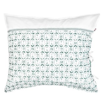 Shyness Pillow Case Night Fly White/Green