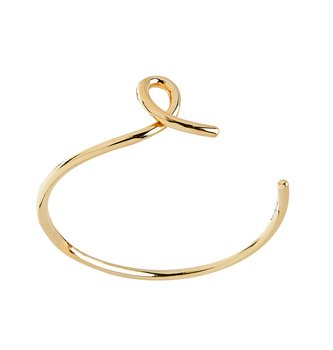 Loop bangle brace gold