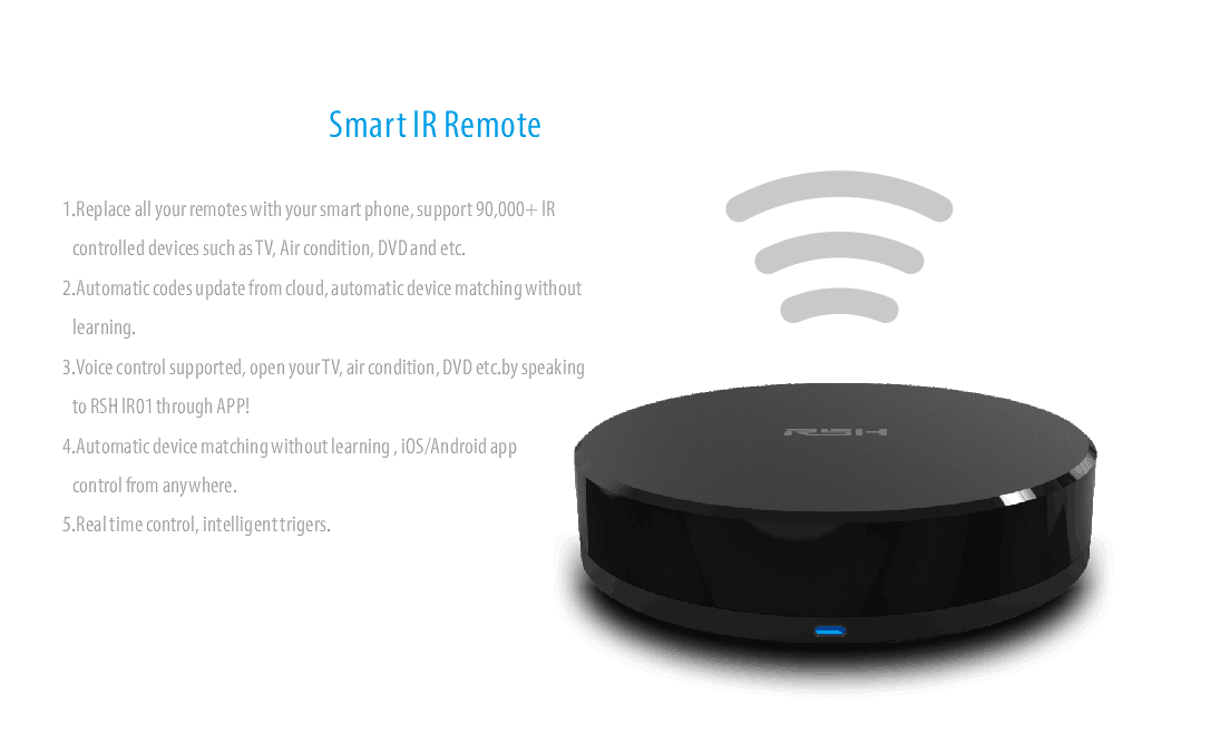 Smart WiFi IR transmitter