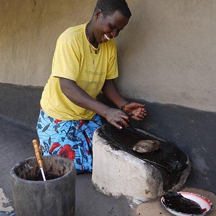 Sheasmör från Uganda